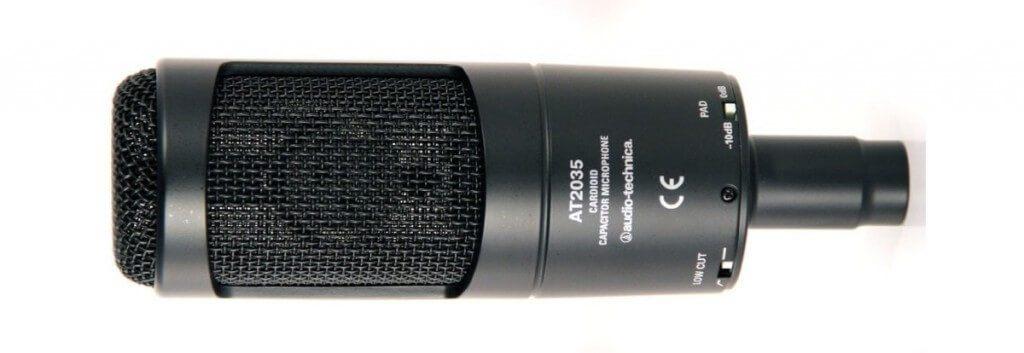 Audio-Technica AT2035 studio microfoon kopen