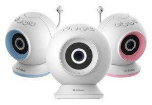 D-Link HD Pan & Tilt baby camera