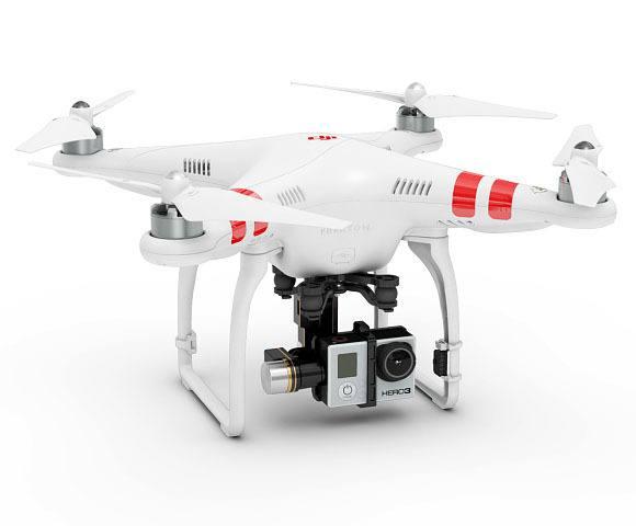 DJI Phantom drone gopro accessoire