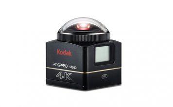 Kodak SP360 4K review 360 graden camera
