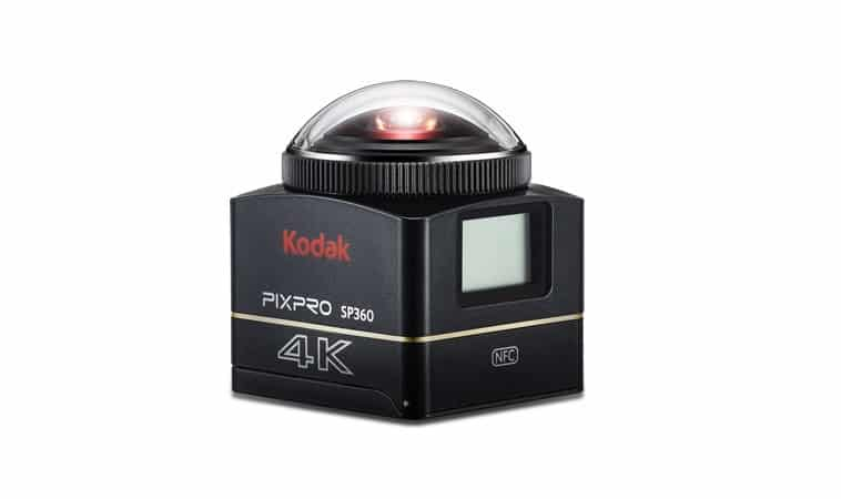 Kodak SP360 4K review 360 graden camera