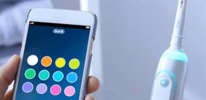 Oral B genius 9000 smartring kleur instellen