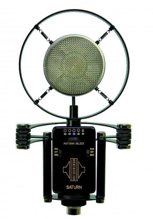 De Sontronics Saturn studiomicrofoon voor vocals