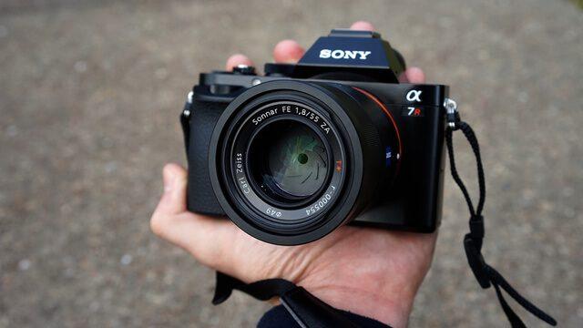 beste systeemcamera Sony A7 II camera