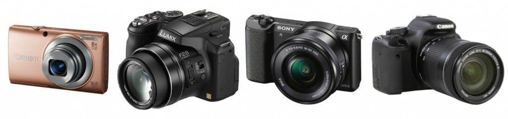 camera kopen soorten camera's