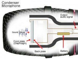condensator microfoon